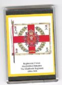 MIDDLESEX REGIMENT COLOURS 1890 LARGE FRIDGE MAGNET